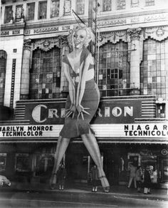 The Criterion welcomes Marilyn Monroe and Niagara, 1953.