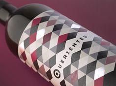 Querientes / Wine label designed by www.pagadisseny.com