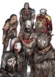 dead by daylight Character Inspiration, Character Art, Character Design, Morel, Horror Drawing, Horror Artwork, Funny Horror, Horror Movie Characters, Arte Horror