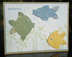under the sea punch | ... late night stampers group and the theme for this week is under the sea