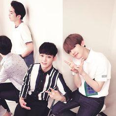 "Baekhyun and Chen - "" #Surprise""   baekhyunee_exo Instagram Update"