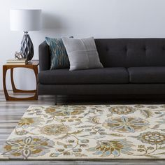 You'll love the Herman Brown & Tan Floral Wool Hand-Tufted Area Rug at Joss & Main - With Great Deals on all products and Free Shipping on most stuff, even the big stuff.