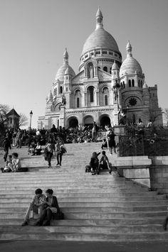 Sacre Coeur, Paris, March 2012.