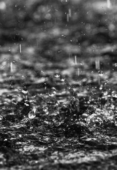 The rain drops have plenty of personality. Each one. • Jack Kerouac