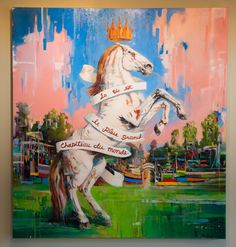 Life is the Greatest Show on Earth / 6' x 7' / oil on linen.  Available from the Saladino Gallery danny@saladinogallery.com