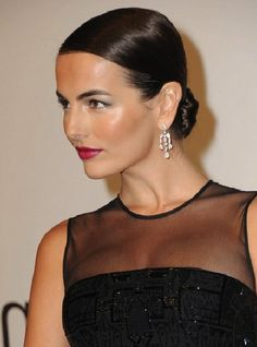 Camilla Belle Low Chignon