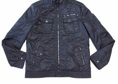 High Quality Ladies Black PU Warmer Jacket