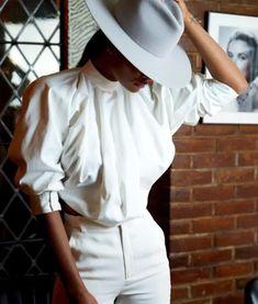 White Fashion, Panama Hat, Hats, Beautiful, Hat, Hipster Hat, Panama