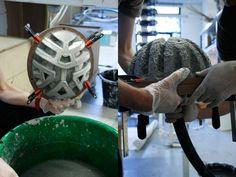 Paper Pulp Helmet