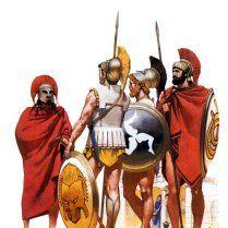 Historical Warrior Illustration Series Part XVII Old Warrior, Greek Warrior, Spartan Warrior, Classical Greece, Classical Period, Greek History, Ancient History, Greco Persian Wars, Greek Soldier
