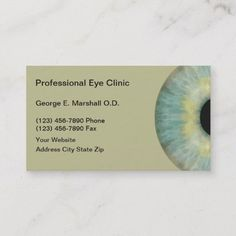 313 best optometrist business cards images on pinterest business optometrist business cards colourmoves