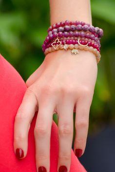Sydney Evan Stacked Bead Stretch Bracelets   Oster Jewelers
