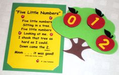 number activity to reinforce numbers 0-5.