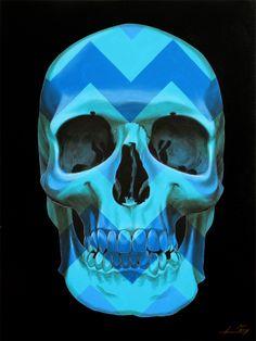 Blue Man by Gerrard King