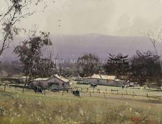 Springtime Near Balarat, Australia by Joseph Zbukvic - Greenhouse Gallery of Fine Art