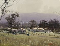 Springtime Near Balarat, Australia by Joseph Zbukvic - Greenhouse Gallery of Fine Art