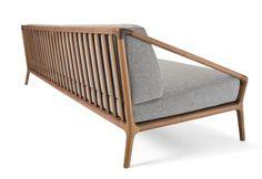 just-good-design: Rive Droite' by Christophe Pillet for Ceccotti Collezioni Sofa Design, Wood Chair Design, Diy Design, Zen Furniture, Furniture Design, Modern Wood Chair, Diy Interior, Interior Design, Interior Wallpaper