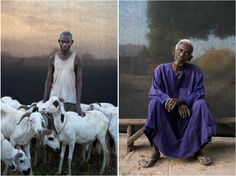 Award-winning Portraits of Gambian Village Chiefs and Elders, West Africa © Jason Florio on Safari Interactive Magazine http://blog.africageographic.com/safari-blog/photography/river-gambia-expedition-a-west-african-odyssey/