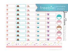 Birthday Planner Stickers | FREE PRINTABLE – Tawana Simone