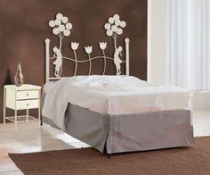 Søt sengegavl i modell TULIPAN