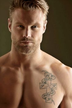 Nick Youngquest - That's an impressive face. And while I would usually say I prefer brunettes, the blond beard is totally doing it for me. :)