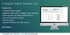 Valve Servers List