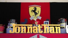 Ferrari Birthday Party Ideas | Photo 11 of 14 | Catch My Party