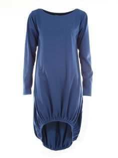 Blue Mullet Jersey Tunic #citrastyle #modeststyle #tunic