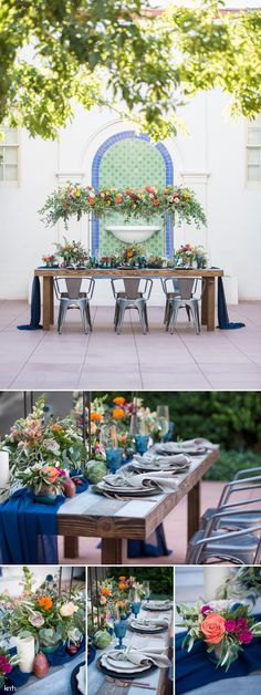 Lush, Colorful Summer Wedding Inspiration | Historic Fifth Street School Wedding in Las Vegas, NV