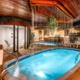 Inspire passion in your loved one in our Paradise Swimming Pool suite. #sybaris #lover #couples #romantic #getaway #suite