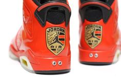 "Customer Air Jordan 6 ""Porsche 911″"