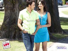 Jay and Simran in Sadka Hua song