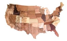 You can download the files to CNC mill a map of this map of the United States, or, better yet, learn all the steps to do it yourself.