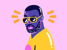 I did a series of GIF for NRJ's new TV spot :) Here's Maitre Gims
