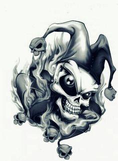 Skull Jester!!  *LadySkull*  (2015)