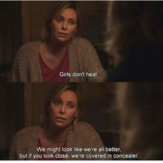 Charlize Theron gained 50 pounds for the role. She adhered to an excessive diet of junk food, processed foods, In-N-Out Burger, and… Tumblr Quotes, Film Quotes, Funny Quotes, Sad Movie Quotes, Sassy Quotes, Citations Film, Good Girl, Baddie Quotes, Movie Lines