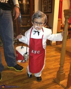 Colonel Sanders KFC - Baby Costume Idea