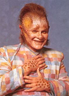 Neelix; played by Ethan Phillips