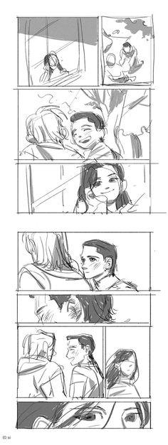 Loki's true feelings || ThorKi / Sif || Cr: pd_honey