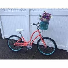 Electra Townie Original 7D Bike with basket.