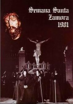 Cartel de la Semana Santa de Zamora 1981