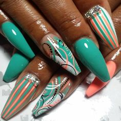 Instagram media by nailbully - Nails Nails Nails Nails Nails!!! In my (Juicy Jay)voice!!!! My work expresses how I feel!!!