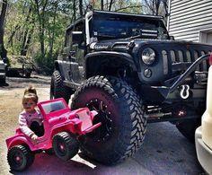 JEEP girl... mini Pink