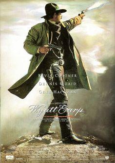 Películas Online Gratis en HD: Ver ( Wyatt Earp ) 1994 Pelicula Completa Online e... Doc Holliday, Wyatt Earp Movie, Poster On, Poster Prints, Peliculas Audio Latino Online, Information Poster, Kevin Costner, Original Movie Posters, Buy Posters