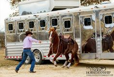 Training Tip: Dealing With Your Horse's Magnet to the Trailer