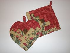 Quilt Potholders by Marildadeslandes on Etsy, $14.00
