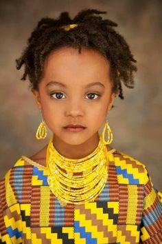 Nubian girl, Sudan.