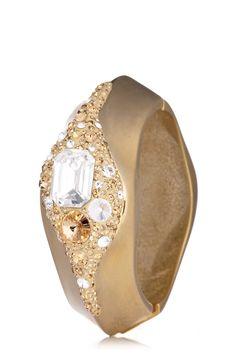 @Jimmy Crystal New York #gold and #Swarovski crystal bangle