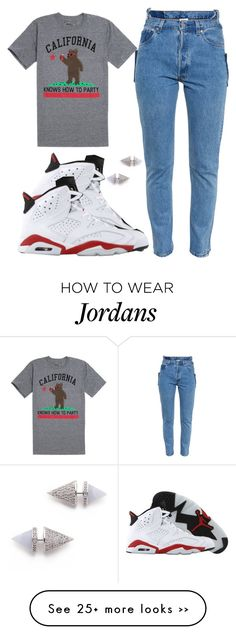 """*"" by princess-kia54321 on Polyvore featuring Vetements, Riot Society and Eddie Borgo"