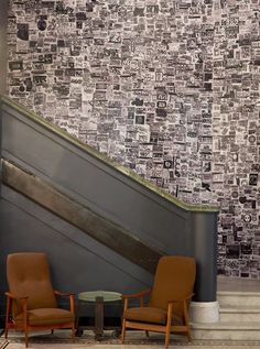 ACE Hotel NYC wall paper